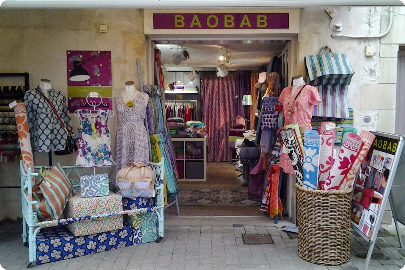 Devanture Magasin marque BAOBAD La Flotte