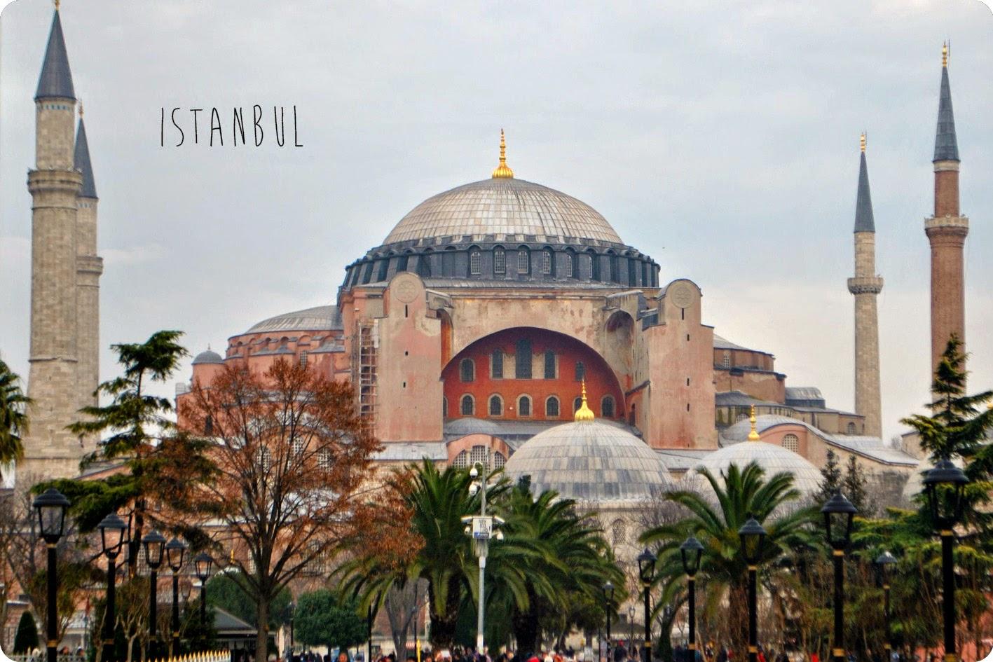 Ville Istanbul Basilique byzantine Sainte-Sophie